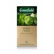 Чай в пакетиках для чашки травяной фруктовый Greenfield Spirit Mate 25 * 1.5г