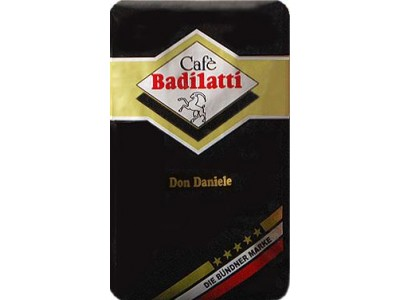 Кофе в зернах Badilatti Don Daniele (Дон Даниэль), 500 г